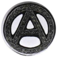 """Zum 25mm Magnet-Button """"Anarchie - Tribal"""" für 2,00 € gehen."""