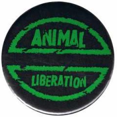 """Zum 25mm Magnet-Button """"Animal Liberation"""" für 2,00 € gehen."""