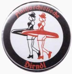 """Zum 25mm Magnet-Button """"Antifaschistische Dirndl"""" für 2,20 € gehen."""