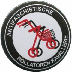 """Zum 25mm Magnet-Button """"Antifaschistische Rollatoren Kavallerie"""" für 2,00 € gehen."""