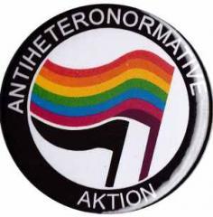 """Zum 25mm Magnet-Button """"Antiheteronormative Aktion"""" für 1,95 € gehen."""