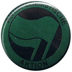 """Zum 25mm Magnet-Button """"Antispeziesistische Aktion (grün/grün)"""" für 2,00 € gehen."""