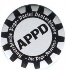 """Zum 25mm Magnet-Button """"APPD - Zahnkranz"""" für 2,00 € gehen."""