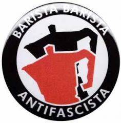 """Zum 25mm Magnet-Button """"Barista Barista Antifascista (Moka)"""" für 2,00 € gehen."""