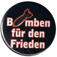 """Zum 25mm Magnet-Button """"Bomben für den Frieden"""" für 2,00 € gehen."""