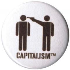 """Zum 25mm Magnet-Button """"Capitalism [TM]"""" für 1,95 € gehen."""