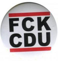 """Zum 25mm Magnet-Button """"FCK CDU"""" für 2,00 € gehen."""