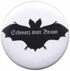 """Zum 25mm Magnet-Button """"Fledermaus - schwarz statt braun"""" für 1,95 € gehen."""