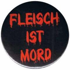 """Zum 25mm Magnet-Button """"Fleisch ist Mord"""" für 1,95 € gehen."""