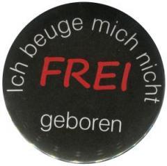 """Zum 25mm Magnet-Button """"Frei geboren"""" für 2,00 € gehen."""