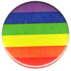 """Zum 25mm Magnet-Button """"Gay Flag"""" für 2,00 € gehen."""