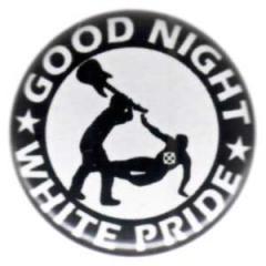 """Zum 25mm Magnet-Button """"Good night white pride - Gitarre"""" für 2,00 € gehen."""