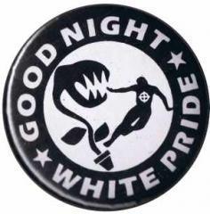 """Zum 25mm Magnet-Button """"Good night white pride - Pflanze"""" für 2,00 € gehen."""