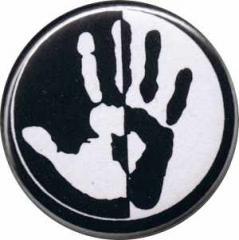 """Zum 25mm Magnet-Button """"Hand"""" für 1,95 € gehen."""