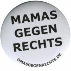 """Zum 25mm Magnet-Button """"Mamas gegen Rechts"""" für 1,95 € gehen."""