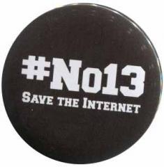 """Zum 25mm Magnet-Button """"#no13"""" für 2,00 € gehen."""
