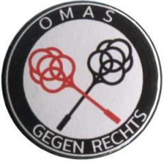 """Zum 25mm Magnet-Button """"Omas gegen Rechts (Teppichklopfer)"""" für 2,00 € gehen."""