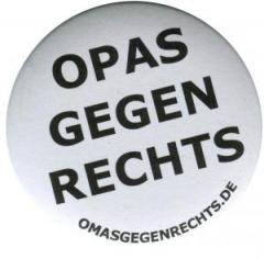 "Zum 25mm Magnet-Button ""Opas gegen Rechts"" für 2,00 € gehen."