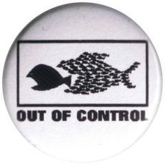 """Zum 25mm Magnet-Button """"Out of Control"""" für 2,00 € gehen."""