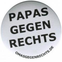 """Zum 25mm Magnet-Button """"Papas gegen Rechts"""" für 1,95 € gehen."""