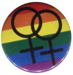 """Zum 25mm Magnet-Button """"Pride female"""" für 2,00 € gehen."""