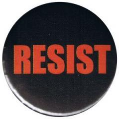 """Zum 25mm Magnet-Button """"RESIST"""" für 1,95 € gehen."""