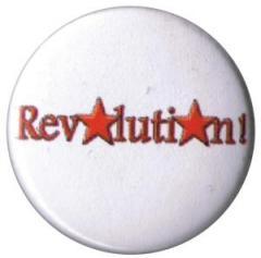 """Zum 25mm Magnet-Button """"Revolution!"""" für 1,95 € gehen."""