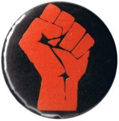"""Zum 25mm Magnet-Button """"Rote Faust"""" für 2,00 € gehen."""