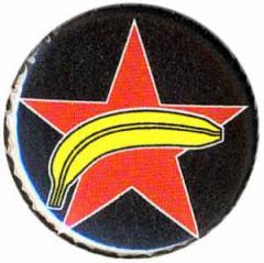 """Zum 25mm Magnet-Button """"Roter Stern + Banane"""" für 2,00 € gehen."""