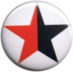 """Zum 25mm Magnet-Button """"schwarz/roter Stern"""" für 2,00 € gehen."""