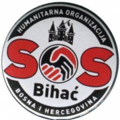 """Zum 25mm Magnet-Button """"SOS Bihac"""" für 2,14 € gehen."""