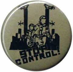 """Zum 25mm Magnet-Button """"Stop Control"""" für 2,00 € gehen."""