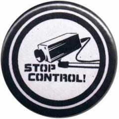 """Zum 25mm Magnet-Button """"Stop Control Kamera"""" für 1,95 € gehen."""