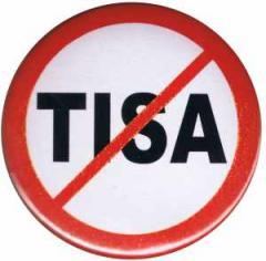 """Zum 25mm Magnet-Button """"Stop TISA"""" für 2,00 € gehen."""