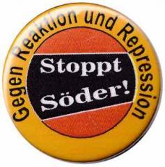 """Zum 25mm Magnet-Button """"Stoppt Söder!"""" für 2,00 € gehen."""