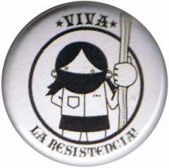 """Zum 25mm Magnet-Button """"Viva la Resistencia!"""" für 1,95 € gehen."""