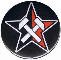 """Zum 25mm Magnet-Button """"Working Class Stern"""" für 2,00 € gehen."""