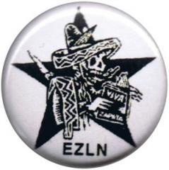"""Zum 25mm Magnet-Button """"Zapatistas Stern EZLN"""" für 2,00 € gehen."""