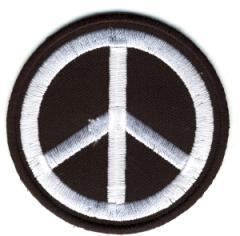 """Zum Aufnäher """"Peacezeichen"""" für 3,00 € gehen."""