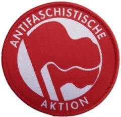 """Zum Aufnäher """"Antifaschistische Aktion (Original von 1932)"""" für 3,00 € gehen."""