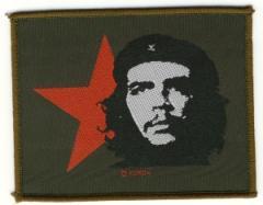 """Zum Aufnäher """"Che Guevara mit Stern"""" für 3,00 € gehen."""