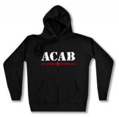 """Zum Woman Kapuzen-Pullover """"ACAB Antifa Action"""" für 27,00 € gehen."""