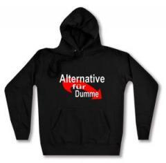 """Zum taillierter Kapuzen-Pullover """"Alternative für Dumme"""" für 27,29 € gehen."""