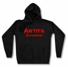 """Zum Woman Kapuzen-Pullover """"Antifa Zeckenbiss"""" für 29,00 € gehen."""