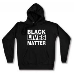 """Zum taillierter Kapuzen-Pullover """"Black Lives Matter"""" für 28,00 € gehen."""
