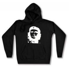 """Zum taillierter Kapuzen-Pullover """"Che Guevara (weiß/schwarz)"""" für 27,29 € gehen."""