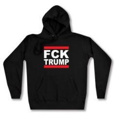 """Zum Woman Kapuzen-Pullover """"FCK TRUMP"""" für 27,00 € gehen."""