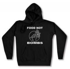 """Zum Woman Kapuzen-Pullover """"Food Not Bombs"""" für 27,00 € gehen."""