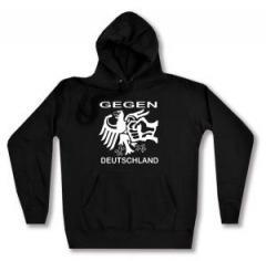 """Zum Woman Kapuzen-Pullover """"Gegen Deutschland"""" für 27,00 € gehen."""