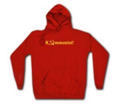 """Zum Woman Kapuzen-Pullover """"Kommunist!"""" für 28,00 € gehen."""